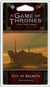 A Game of Thrones: The Card Game (Second Edition) - City of Secrets Chapter Pack